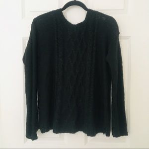 Aeropostale Green Soft Knit Sweater Aero